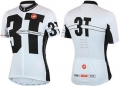 CASTELLI Ultimate Performance 3T Team Jersey White/Black