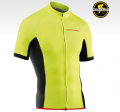 NORTHWAVE Cykeltrøje Force S/S Yellowfluo