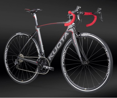 Kuota Kryon Dark Grey- Italienske Kvalitets Cykel - High-End Race cykler - Pro Dealer