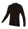 ENDURA Merino L/S Base Layer - Black