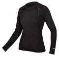 ENDURA Wms Merino L/S Baselayer - Black